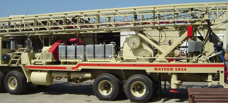 "DSM-Mayhew HD-54 Drilling Rig, ""Sabertooth"""